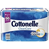 36-Rolls Cottonelle Family Roll Toilet Paper