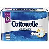 Cottonelle CleanCare Family Roll Toilet Paper, Bath Tissue, 36 Rolls