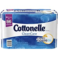 Cottonelle CleanCare Family Roll Toilet Paper, Bath...
