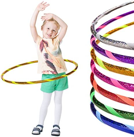 Hula Hoop Reifen Kinder Bunt Mädchen Steckbar Kindergeburtstag
