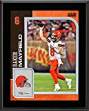 """Baker Mayfield Cleveland Browns 10.5"""" x 13"""" Sublimated Player Plaque - NFL Player Plaques and Collages"""