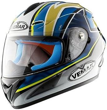 Casco integral de moto Vemar VSR 1r17 Talla S