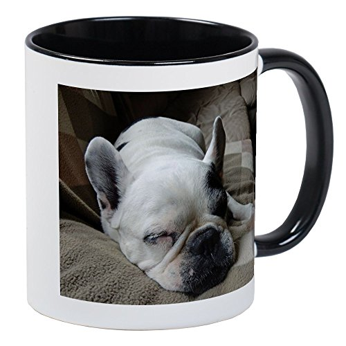 Bulldog Pied French (CafePress - Pied French Bulldog Mugs - Unique Coffee Mug, Coffee Cup)