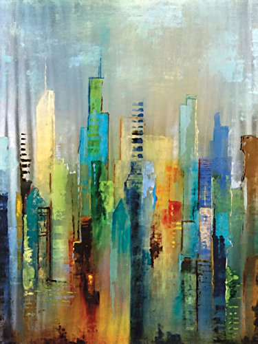 "Portfolio Canvas Decor ""Steel Rising"" Painting Print on Wrap"