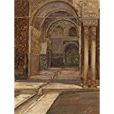 The high quality polyster Canvas of oil painting 'Alhambra in Granada by Emile Vloors,1901 ' ,size: 24x32 inch / 61x81 cm ,this Best Price Art Decorative Canvas Prints is fit for Bedroom gallery art and Home gallery art and Gifts