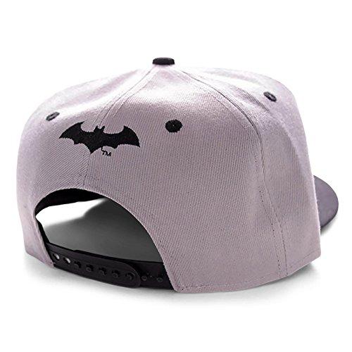 Gorra hombre béisbol para gris de Batman única gris Talla dqwxad