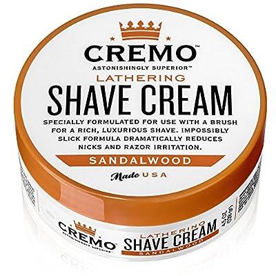 Cremo Lathering Shave Cream