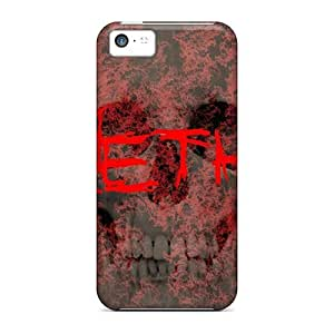 Durable Protector Case Cover With Seether Hot Design For Iphone 5c
