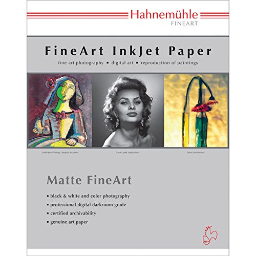 Hahnemuhle 13x19'' Photo Rag Book & Album, 220 gsm, Short Grain, 25 Sheets