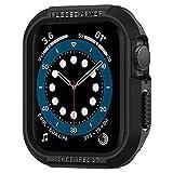 Spigen Rugged Armor Designed for Apple Watch Case 40mm Series 6/SE/5/4 - Black