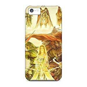 Anti-Scratch Cell-phone Hard Cover For Iphone 5c With Customized High-definition Legend Of Zelda Pattern SherriFakhry