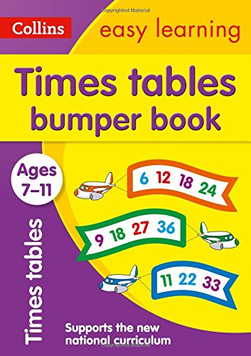 Times Tables Bumper Book: Ages 7-11 (Collins Easy Learning KS2) ebook