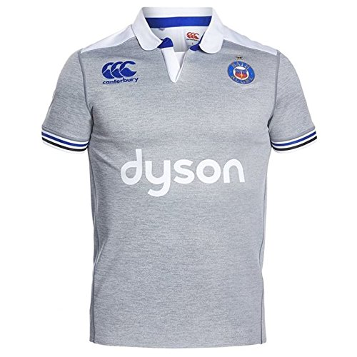 fan products of Bath Rugby Alternate Pro Rugby Jersey - Grey