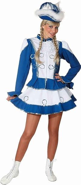 Disfraz de majorette azul mujer - L: Amazon.es: Juguetes y juegos