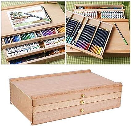 Caja de caballete, almacenamiento de madera multifuncional del ...