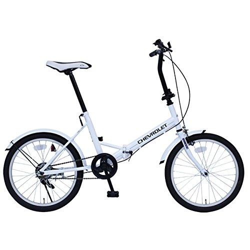 折畳み自転車 CHEVROLET FDB20E MG-CV20E【代引不可】 生活用品 インテリア 雑貨 自転車(シティーサイクル) 折り畳み自転車 top1-ds-1988993-ah [簡素パッケージ品] B078M1WCWF