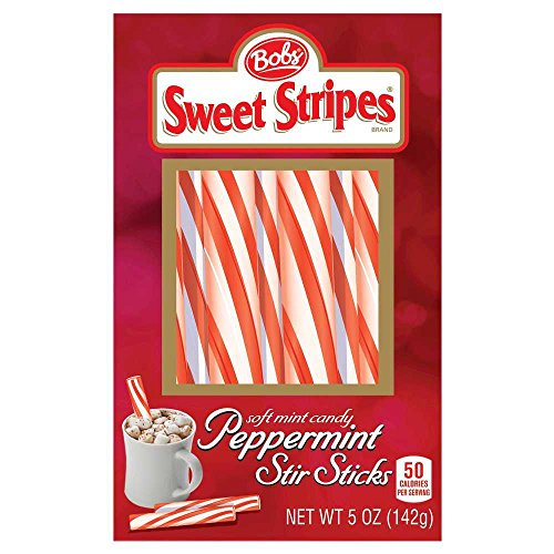 Bob's Sweet Stripes Peppermint Stir Sticks (Pack of 2) ()