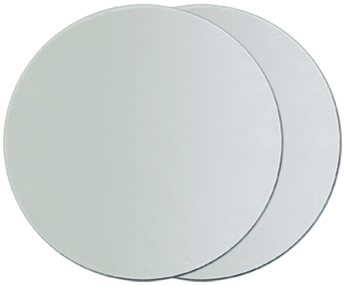 Round Glass Mirrors 2/Pkg-3 Darice 1613-44