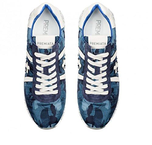 PREMIATA Herren Sneaker Blau Blau