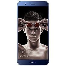 "Huawei Honor V9 DUK-AL20 5.7"" inches (6GB+64GB) Dual Sim HiSilicon Kirin 960 LTE Smartphone (Blue)"
