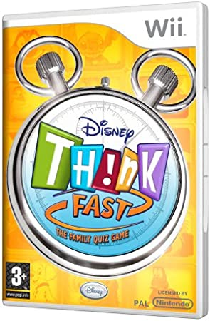 Disney Think Standalone Wii Ver. Portugal: Amazon.es: Electrónica