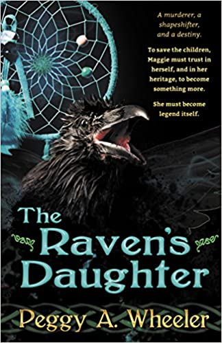 The Raven's Daughter Book Cover