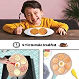 Emoji Smiley Face Pancake Pan, Ejoyway Nonstick