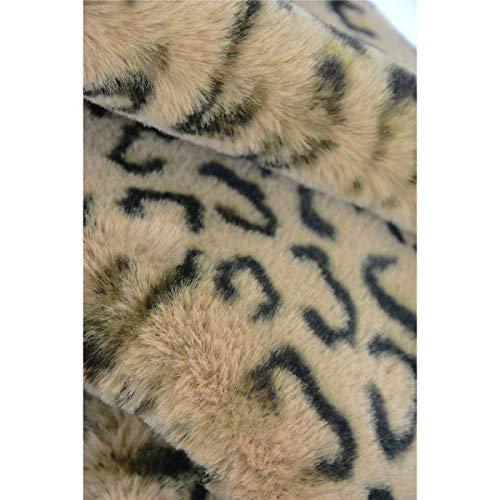 Homelex Faux Fur Neck Winter Warmer Leopard Print Infinity Sciarpa per le  donne (marrone)  Amazon.it  Abbigliamento 8d0e4b5e3d6