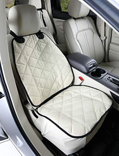 - 4Knines Front Seat Cover for Dogs (Tan) - USA Based Company