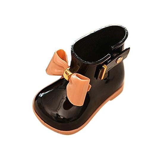 3775cb2e7d676 Amazon.com: ❤ Mealeaf ❤ Toddler Child Rain Shoes Kids Boys ...