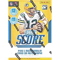 $39 » 2018 Score Football Factory Sealed Blaster Box 132 cards (11 packs of 12 cards)
