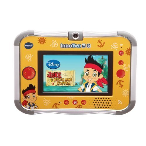 Vtech Jake and the Neverland Pirates Inno Tab Innotab 3S Learning Tablet Bundle WiFi Storage Case Wrist Strap & Charm by Innotab TOY