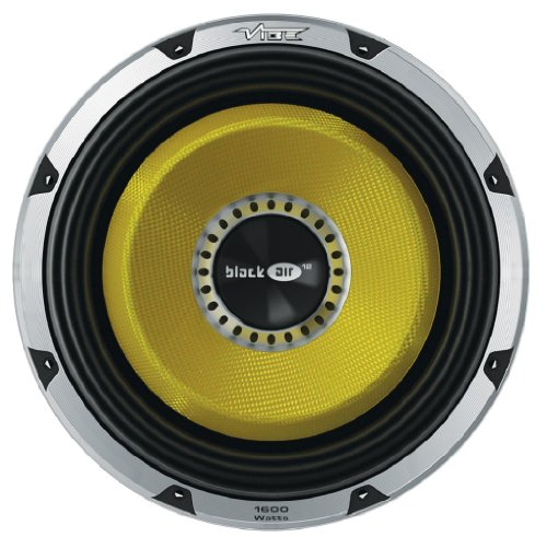 VIBE Blackair Series 12-Inch 400W RMS Dual 2 Ohm Subwoofer BA12