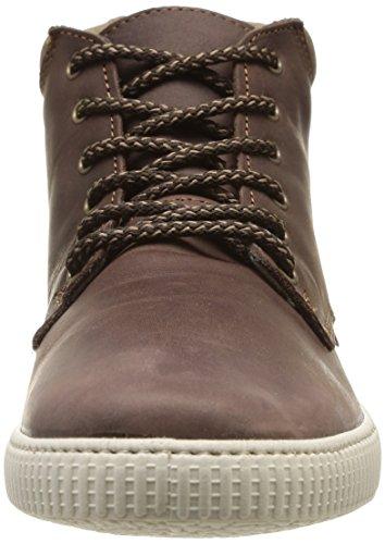 Unisex Cuello Piel Marron Bota Sneakers Victoria Marrone Aq1I6w0