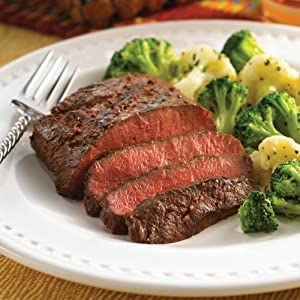 Omaha Steaks Sizzling Flat Iron Feast