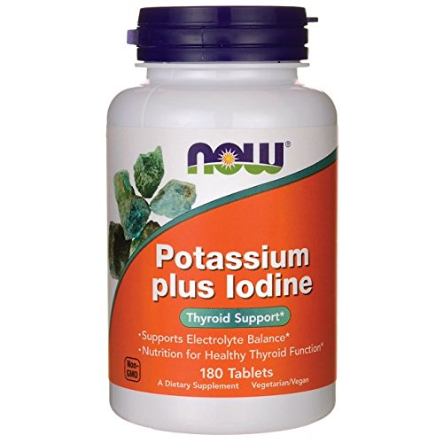 Potassium Plus Iodine 180 Tablets product image