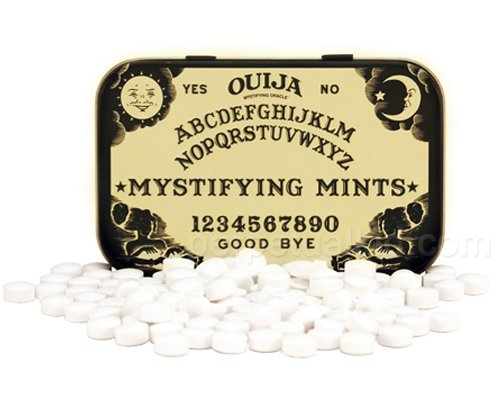 Candy Tin Ouija Mystifying Mints 1.5 oz