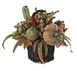 SKB Family Fall Pumpkin & Berry Table Arrangement lovingly Crafted Tradition