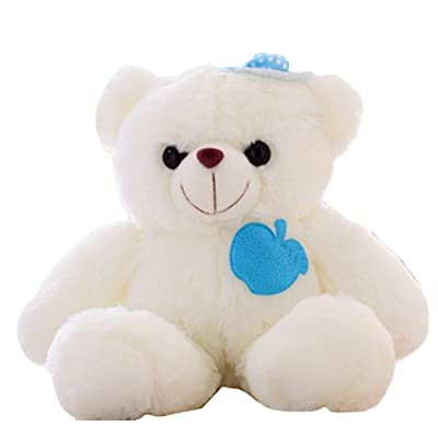 STE OURS teddy PELUCHE LUMINEUX (garçon)