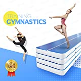 VEVOR Gymnastics Mat Series Inflatable Tumbling Mat Air Tumbling Track with Electric Pump for Home Use
