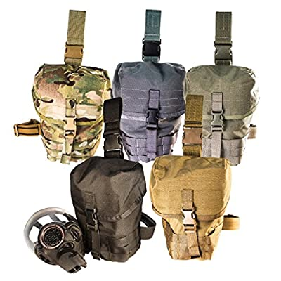 Gas Mask Model: High Speed Gear MOLLE Gas Mask Pouch V2, Dump Pouch, Drop Leg/Shoulder Strap from High Speed Gear :: Gas Mask Bag :: Army Gas Masks :: Best Gas Mask