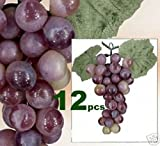 LOT OF 612 Grapes Artificial Fruit Home Garden Decor RG
