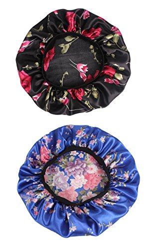 at Sleep Hairwrap Turban Hat Waterproof Bath Cap for Women ()
