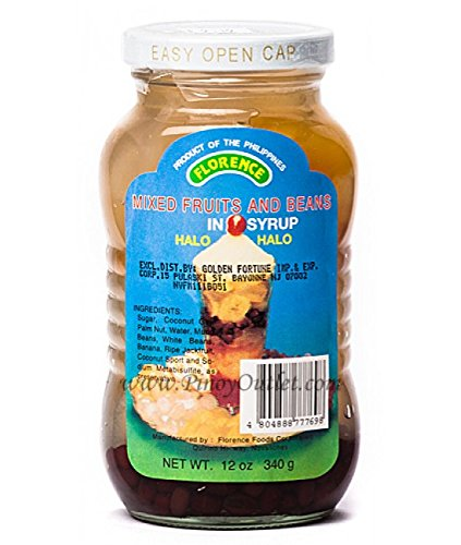 Florence Mixed Fruits and Beans in Syrup 12oz