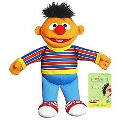 Sesame Street Plush Ernie, 9 Inch