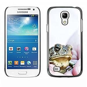 Caucho caso de Shell duro de la cubierta de accesorios de protección BY RAYDREAMMM - Samsung Galaxy S4 Mini i9190 MINI VERSION! - Boss Frog