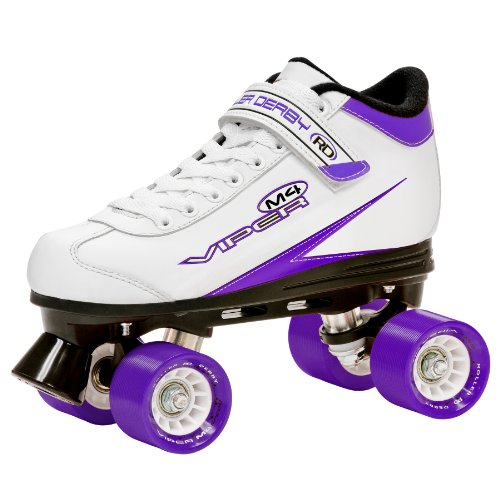 Roller Derby Women's Viper M4 Speed Quad Skate, Size 08