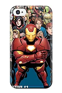 Iphone 4/4s The Avengers 58 Tpu Silicone Gel Case Cover. Fits Iphone 4/4s