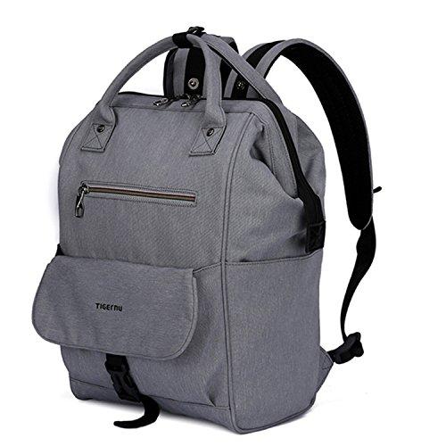Bag Large Capacity Baby Bags Nursing Bag Travel Backpack Baby Care Bag Mom Dad Sliver Grey ()