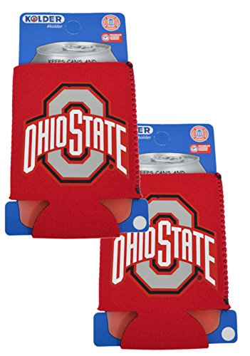 NCAA Fan Shop Authentic 2-Pack Insulated 12 Oz Can Cooler. Show School Pride At Home, Tailgating or At a Game. Great for Students, Alumni or Fans.